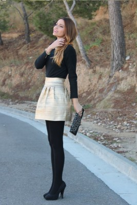 2015 Inspirations Chic Outfit For Thanksgiving