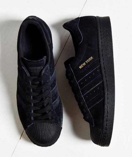 Adidas City Series New York - black velvet