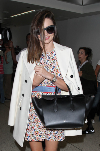 Miranda Kerr Leather Tote by Celine
