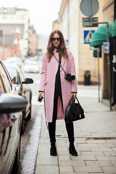 long-pink-coat-for-fall-and-winter