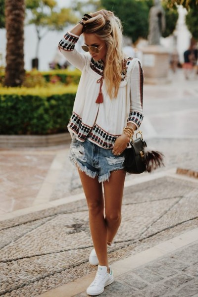 2016 Spring Bohemian Look Outfit Inspirations