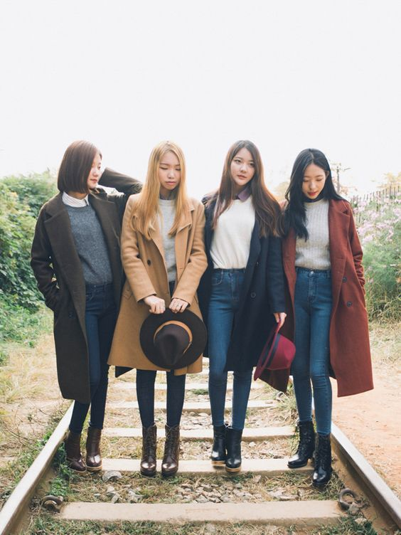 2016 Korean Spring Look Outfit Inspirations Celebrity Fashion