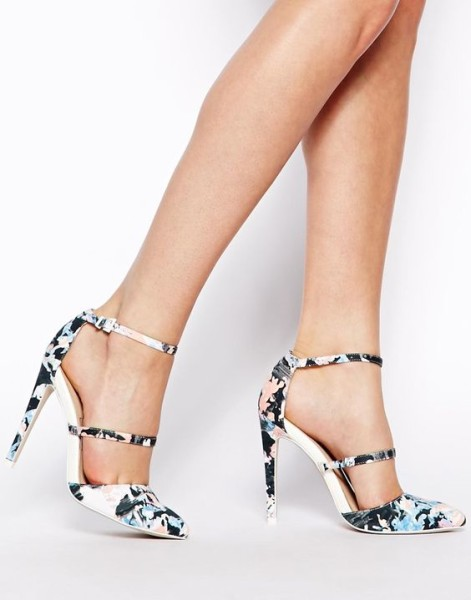 Enlarge ASOS POYNTER Pointed High Heels via ASOS
