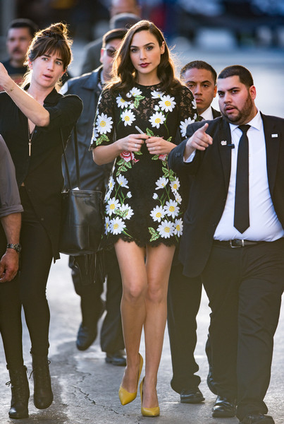 Gal Gadot is seen at 'Jimmy Kimmel Live' on March 15, 2016. _2
