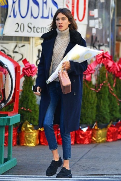 Alexa Chung Street Style Be Casual And Cool 187 Celebrity