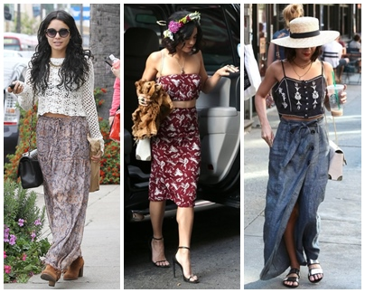 Best Vanessa Hudgens Festival Outfit Inspirations