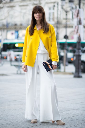 Spring is the perfect time to go for those white pieces you may have been holding off on.