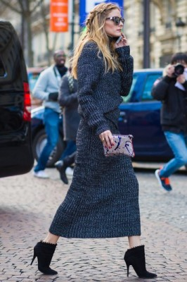 Transitional seasons are the best time to pull out those unconventional knits.