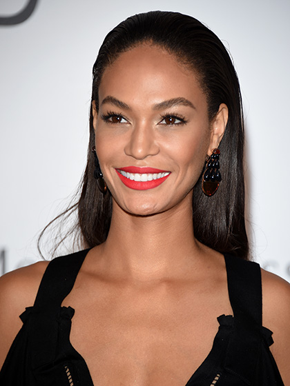 MATTE FIRE-ENGINE RED Joan Smalls
