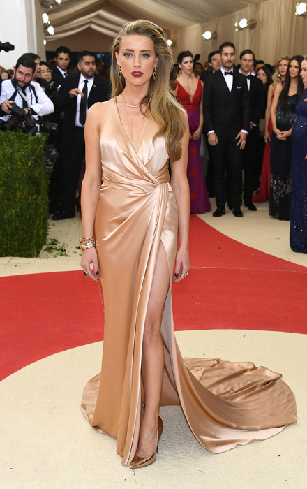 Amber Heard in Ralph Lauren