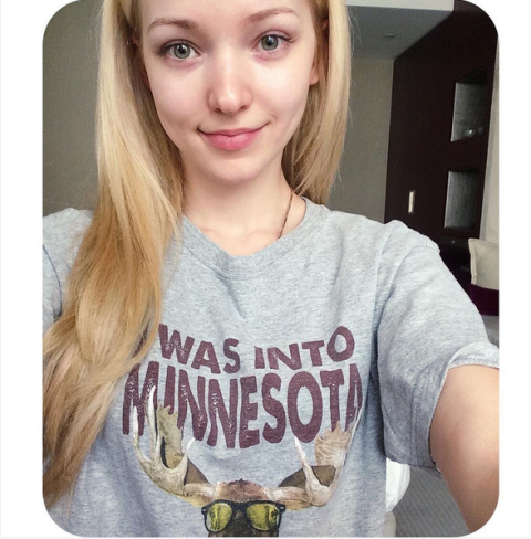 Instagram/dovecameron ||Dove Cameron posted this beautiful no makeup selfie on her Instagram and encouraged her fans to do the same!