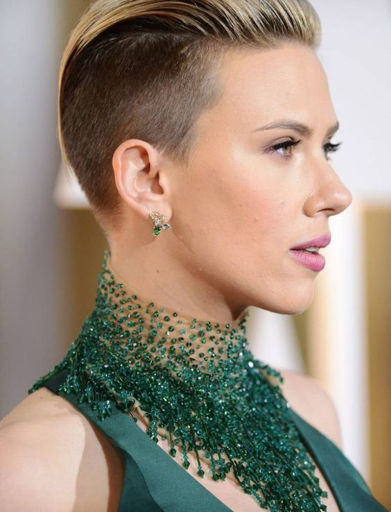 Most Acceptable Celebrities Undercuts Hairstyle
