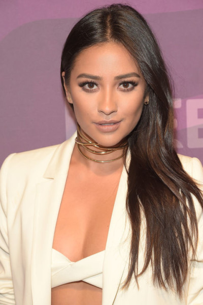Shay Mitchell Solid Dark Walnut