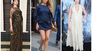 2016 Most Adorable Celebrities Maternity Dress in Style!