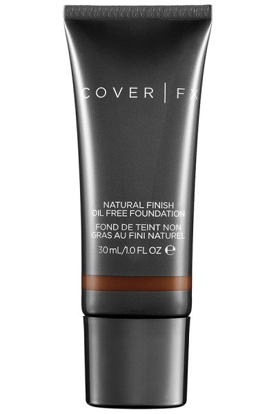 COVER FX Natural Finish Oil Free Foundation, $40; at COVER FX