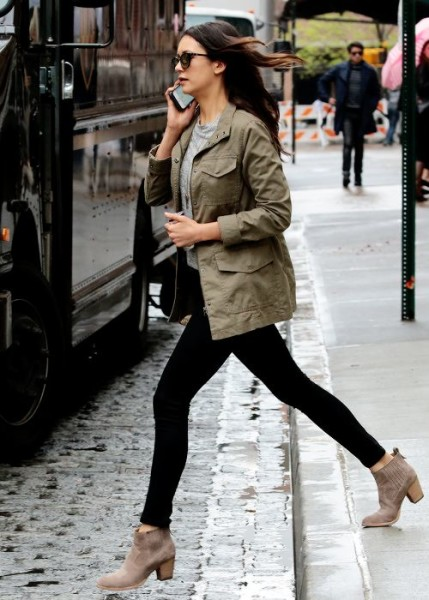 Nina Dobrev out and about in New York City