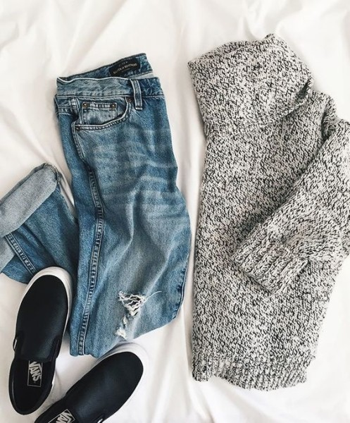 How to Mix & Match Sweater Outfit For Fall