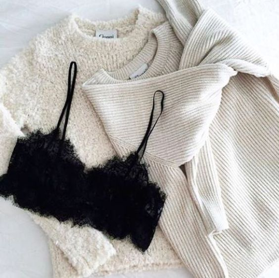 Knit Sweater and outfit