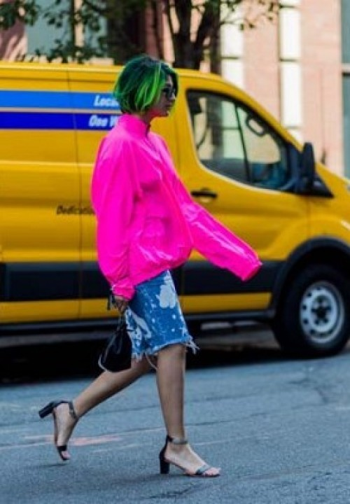 Neon Pink via The Styleograph