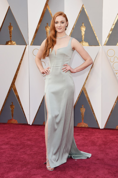 Sophie Turner Evening Dress