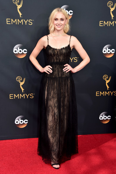 Sophie Turner Lace Dress