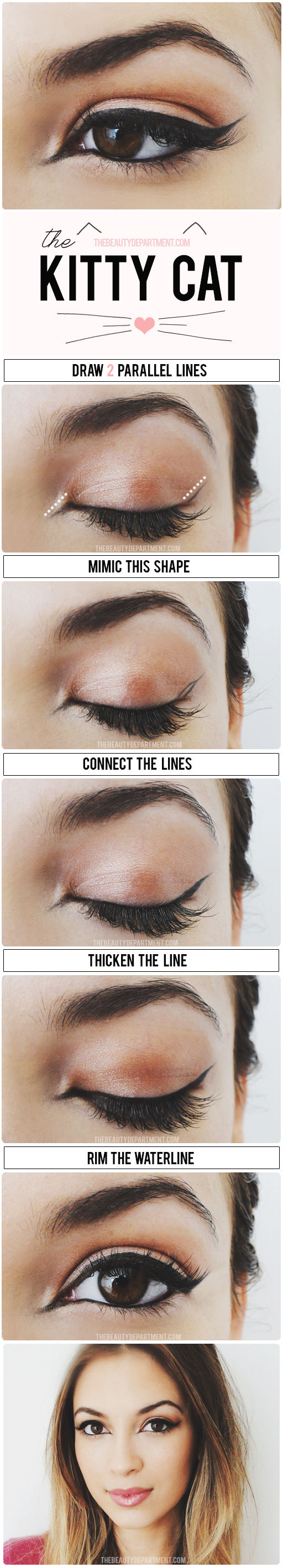 THE CAT EYE STYLIZED via thebeautydepartment