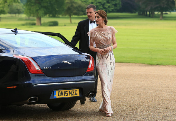Catherine, Duchess of Cambridge attends a gala dinner in support of East Anglia's Children's Hospices' nook appeal at Houghton Hall on June 22, 2016 in King's Lynn, England.