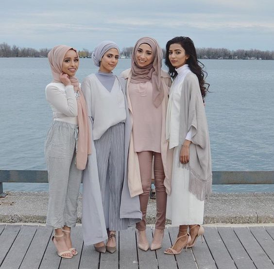 Hijab + Pastels + So Cohesive