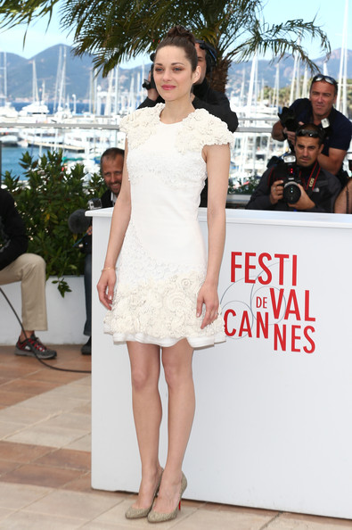 Marion Cotillard in Alexander McQueen via  Andreas Rentz - Getty Images Europe