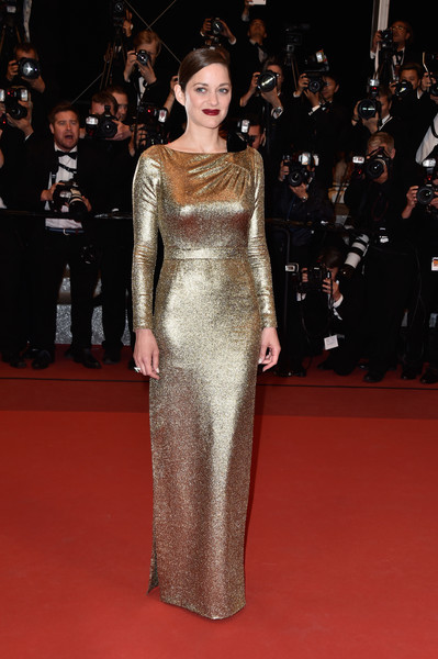 Marion Cotillard in Christian Dior via  Pascal Le Segretain - Getty Images Europe