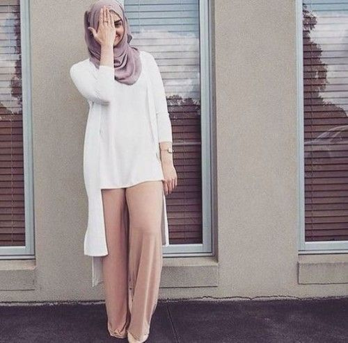 Pastel Hijab Outfit Ideas For This Fall