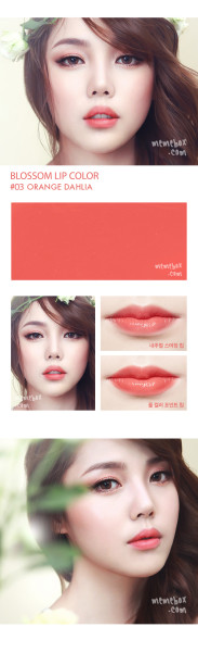 Pony Blossom Lipstick #03 Orange Dahlia