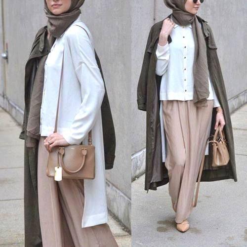 palazzo pants hijab outfit