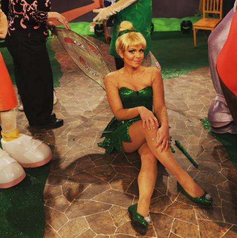 Candace Cameron Bure As Tinker Bell.