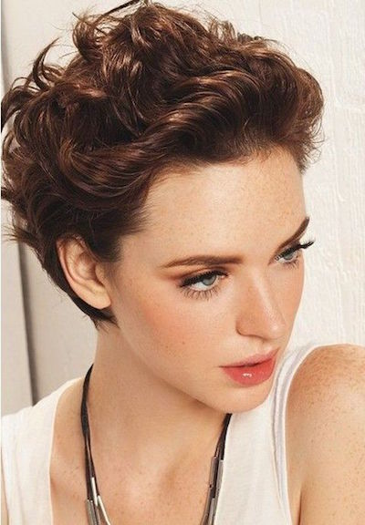 Pretty Short Pixie Cut
