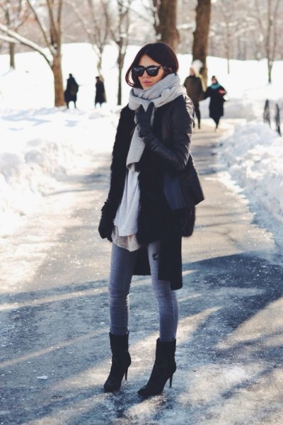Casual and Chicest Ways to Layering Winter Outfit