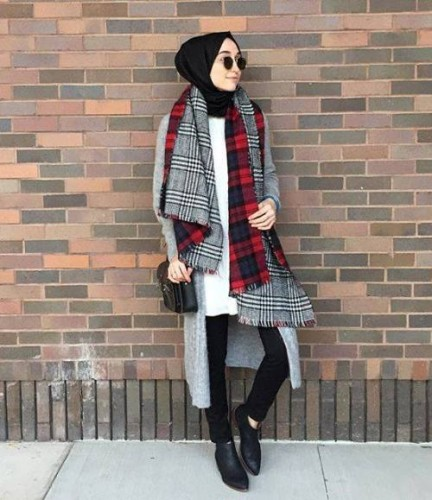 Casual WInter Hijab