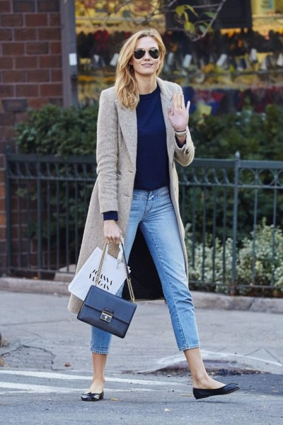 How Karlie Kloss Styles the Same Pair of Jeans Three Different Ways in 24 Hours