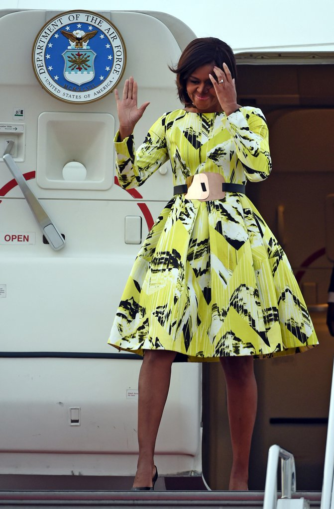 Most Adorable Michelle Obama Fashion Style Youre Gonna Love