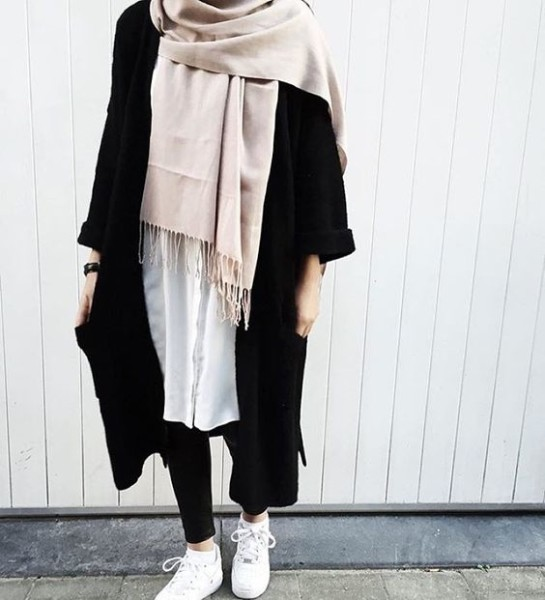 Winter Hijab Fashion Street Style
