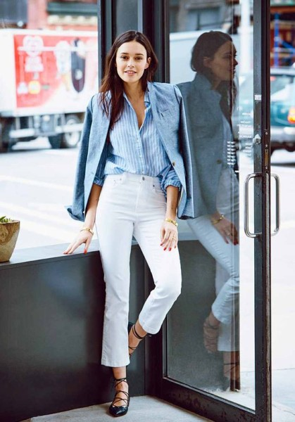 Light Blue Outfits