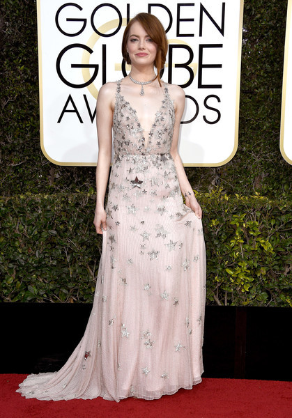 Emma Stone in Valentino