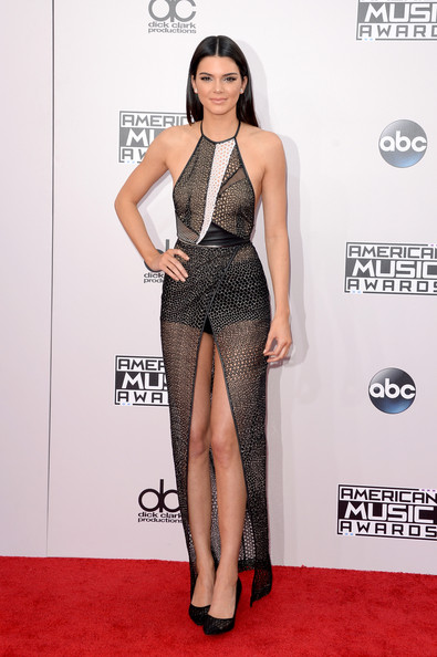 Kendall Jenner Halter Dress by Yigal Azrouel