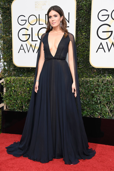 Mandy Moore in Naeem Khan