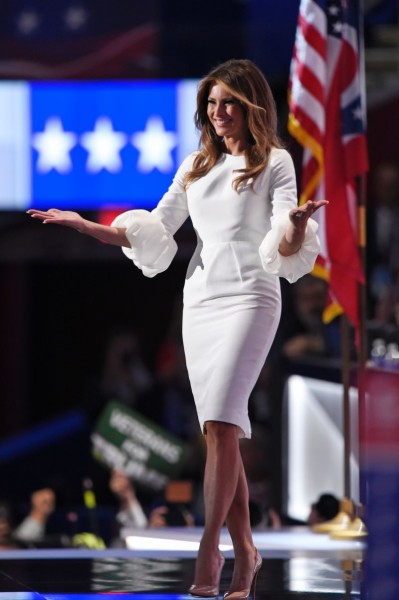 Melania Trump Cocktail Dress_
