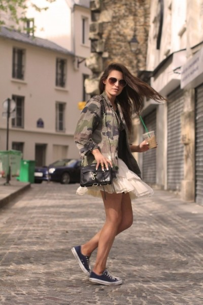 Sneakers Outfit Style 2017
