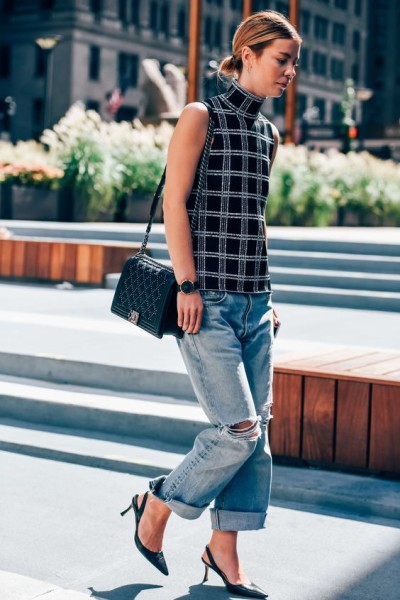 Outfit Ideas to Wear Kitten Heels to the next level » Celebrity ...