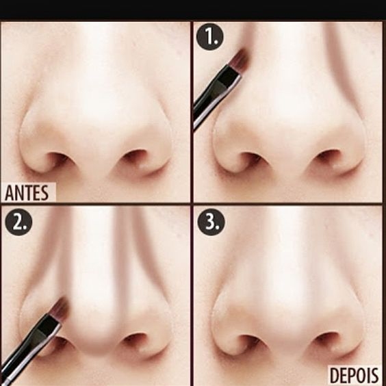 Beauty Tutorial: Contouring Tips To Smaller Nose ...