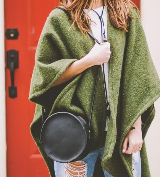 Marina Leather Circle Bag by Neva Opet on Scoutmob
