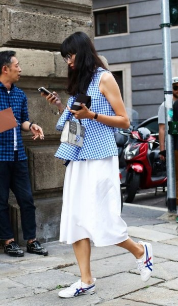 street style from Milan's Spring 2017